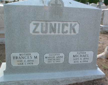 ZUNICK, MICHAEL - Yavapai County, Arizona | MICHAEL ZUNICK - Arizona Gravestone Photos
