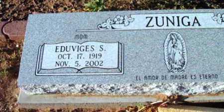 ZUNIGA, EDUVIGES S. - Yavapai County, Arizona | EDUVIGES S. ZUNIGA - Arizona Gravestone Photos