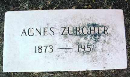 ZURCHER, AGNES - Yavapai County, Arizona | AGNES ZURCHER - Arizona Gravestone Photos