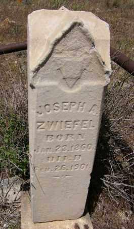 ZWIEFEL, JOSEPH A. - Yavapai County, Arizona | JOSEPH A. ZWIEFEL - Arizona Gravestone Photos