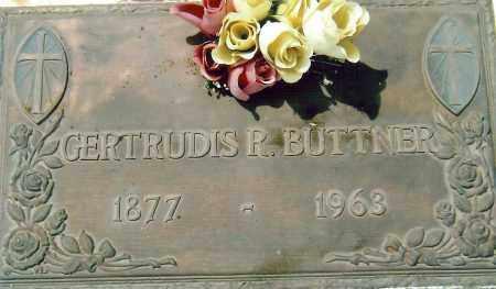BUTTNER, GERTRUDIS (TULA) - Pima County, Arizona | GERTRUDIS (TULA) BUTTNER - Arizona Gravestone Photos