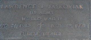 JASKOVIAK, LAWRENCE J. - Pima County, Arizona | LAWRENCE J. JASKOVIAK - Arizona Gravestone Photos
