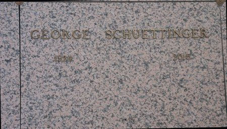 SCHUETTINGER, GEORGE - Pima County, Arizona | GEORGE SCHUETTINGER - Arizona Gravestone Photos