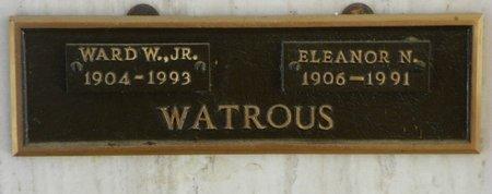 WATROUS, WARD W. JR - Pima County, Arizona | WARD W. JR WATROUS - Arizona Gravestone Photos