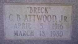 "ATTWOOD, JR, CLIFTON BRECKENBRIDGE ""BRECK"" - Cleveland County, Arkansas | CLIFTON BRECKENBRIDGE ""BRECK"" ATTWOOD, JR - Arkansas Gravestone Photos"