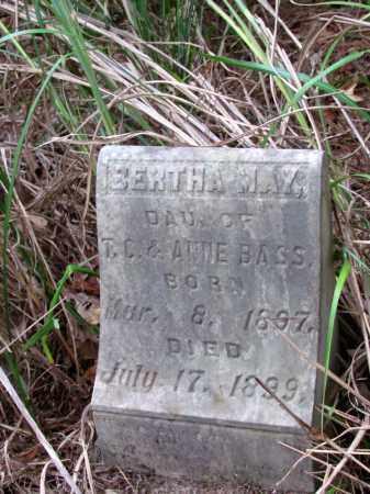 BASS, BERTHA MAY - Cleveland County, Arkansas | BERTHA MAY BASS - Arkansas Gravestone Photos