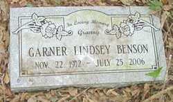 BENSON, GARNER - Cleveland County, Arkansas | GARNER BENSON - Arkansas Gravestone Photos