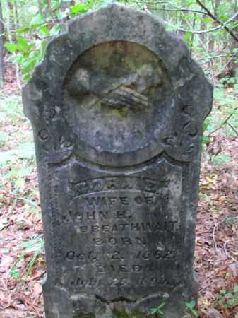 BREATHWAIT, CORA E - Cleveland County, Arkansas | CORA E BREATHWAIT - Arkansas Gravestone Photos