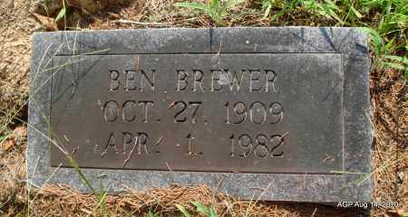 BREWER, BEN - Cleveland County, Arkansas   BEN BREWER - Arkansas Gravestone Photos