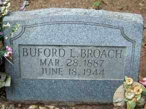 BROACH, BUFORD L. - Cleveland County, Arkansas | BUFORD L. BROACH - Arkansas Gravestone Photos