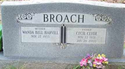BROACH, CECIL CLYDE - Cleveland County, Arkansas | CECIL CLYDE BROACH - Arkansas Gravestone Photos