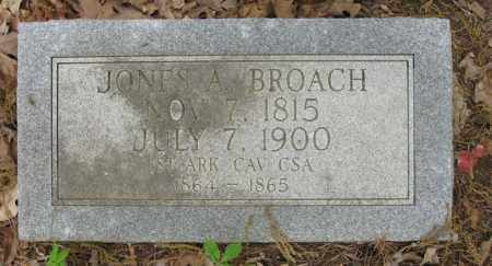 BROACH, JONES A - Cleveland County, Arkansas | JONES A BROACH - Arkansas Gravestone Photos