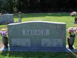 BROACH, EVA H - Cleveland County, Arkansas | EVA H BROACH - Arkansas Gravestone Photos