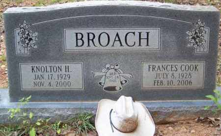 BROACH, FRANCES - Cleveland County, Arkansas | FRANCES BROACH - Arkansas Gravestone Photos