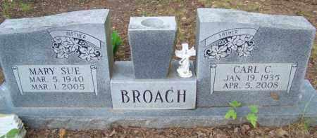 BROACH, CARL C. - Cleveland County, Arkansas   CARL C. BROACH - Arkansas Gravestone Photos