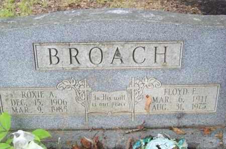 BROACH, FLOYD F - Cleveland County, Arkansas | FLOYD F BROACH - Arkansas Gravestone Photos