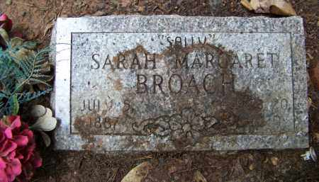 "BROACH, SARAH MARGARET ""SALLY"" - Cleveland County, Arkansas 