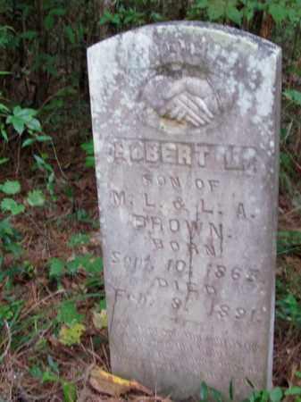 BROWN, ROBERT L - Cleveland County, Arkansas | ROBERT L BROWN - Arkansas Gravestone Photos