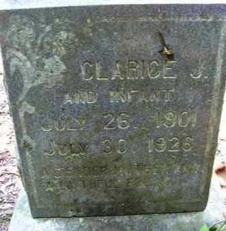 CALAWAY, CLARICE JESSIE - Cleveland County, Arkansas | CLARICE JESSIE CALAWAY - Arkansas Gravestone Photos