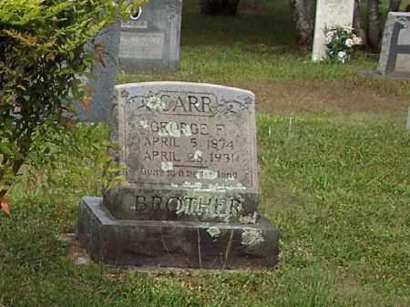 CARR, GEORGE F - Cleveland County, Arkansas | GEORGE F CARR - Arkansas Gravestone Photos