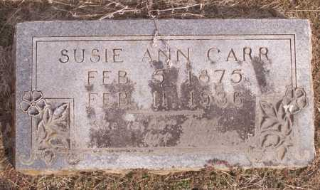 CARR, SUSIE ANN - Cleveland County, Arkansas | SUSIE ANN CARR - Arkansas Gravestone Photos