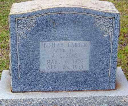 CARTER, BEULAH - Cleveland County, Arkansas   BEULAH CARTER - Arkansas Gravestone Photos