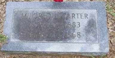 CARTER, MILDRED LARCENIA - Cleveland County, Arkansas | MILDRED LARCENIA CARTER - Arkansas Gravestone Photos