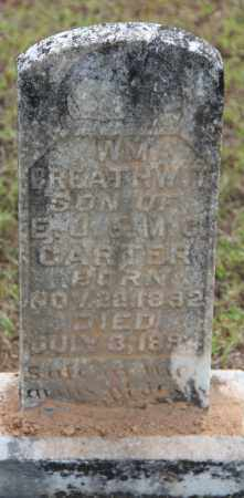 CARTER, WILLIAM BREATHWIT - Cleveland County, Arkansas | WILLIAM BREATHWIT CARTER - Arkansas Gravestone Photos