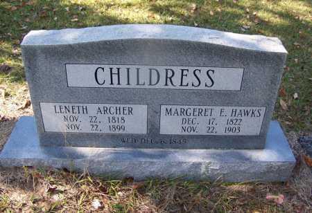 CHILDRESS, MARGARET E - Cleveland County, Arkansas | MARGARET E CHILDRESS - Arkansas Gravestone Photos