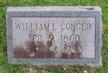 CONGER, WILLIAM L - Cleveland County, Arkansas | WILLIAM L CONGER - Arkansas Gravestone Photos