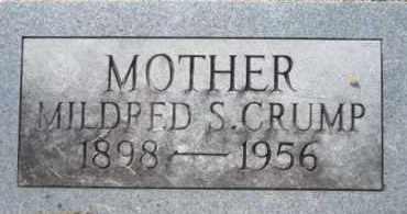 CRUMP, MILDRED - Cleveland County, Arkansas   MILDRED CRUMP - Arkansas Gravestone Photos