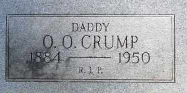 CRUMP, O O - Cleveland County, Arkansas | O O CRUMP - Arkansas Gravestone Photos
