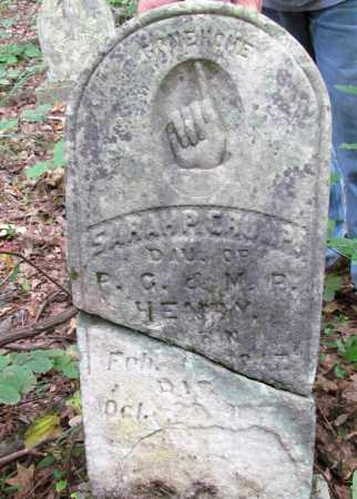HENRY CRUMP, SARAH P - Cleveland County, Arkansas | SARAH P HENRY CRUMP - Arkansas Gravestone Photos