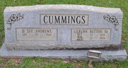 CUMMINGS, SR, LILBURN BUTTON - Cleveland County, Arkansas | LILBURN BUTTON CUMMINGS, SR - Arkansas Gravestone Photos