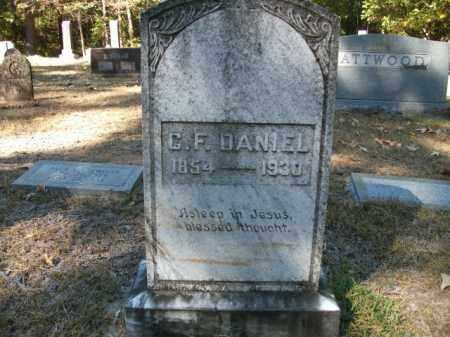 DANIEL, C F - Cleveland County, Arkansas   C F DANIEL - Arkansas Gravestone Photos