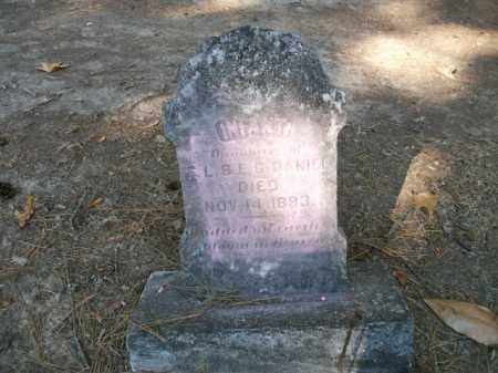 DANIEL, INFANT DAUGHTER - Cleveland County, Arkansas | INFANT DAUGHTER DANIEL - Arkansas Gravestone Photos