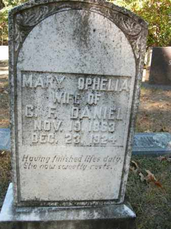 DANIEL, MARY OPHELIA - Cleveland County, Arkansas | MARY OPHELIA DANIEL - Arkansas Gravestone Photos