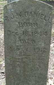 DANIEL, R J W - Cleveland County, Arkansas | R J W DANIEL - Arkansas Gravestone Photos