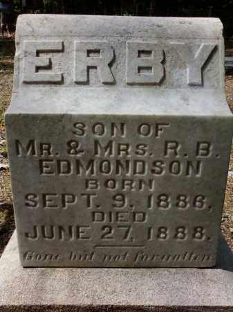 EDMONDSON, ERBY - Cleveland County, Arkansas | ERBY EDMONDSON - Arkansas Gravestone Photos
