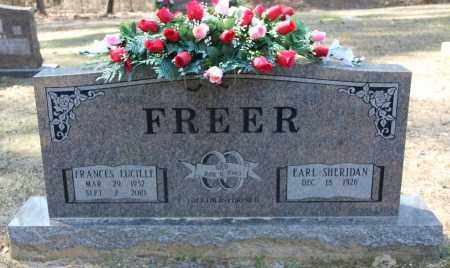 FREER, FRANCES LUCILLE - Cleveland County, Arkansas   FRANCES LUCILLE FREER - Arkansas Gravestone Photos
