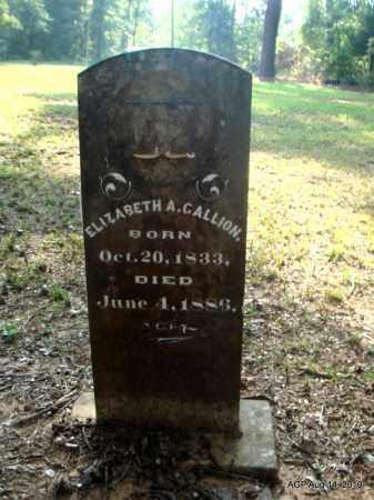 GALLION, ELIZABETH A - Cleveland County, Arkansas   ELIZABETH A GALLION - Arkansas Gravestone Photos