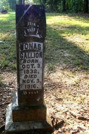 GALLION, JONAS - Cleveland County, Arkansas   JONAS GALLION - Arkansas Gravestone Photos