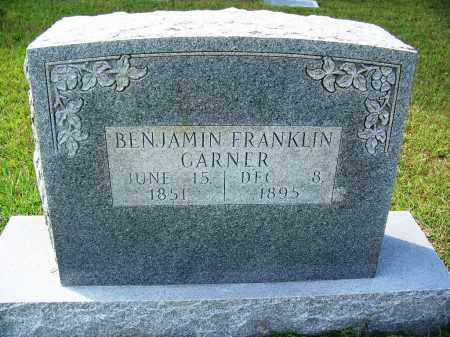 GARNER, BENJAMIN FRANKLIN - Cleveland County, Arkansas | BENJAMIN FRANKLIN GARNER - Arkansas Gravestone Photos