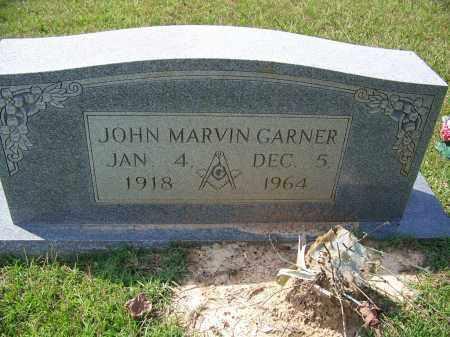 GARNER, JOHN MARVIN - Cleveland County, Arkansas   JOHN MARVIN GARNER - Arkansas Gravestone Photos