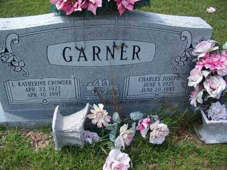 GARNER, L KATHERINE - Cleveland County, Arkansas | L KATHERINE GARNER - Arkansas Gravestone Photos