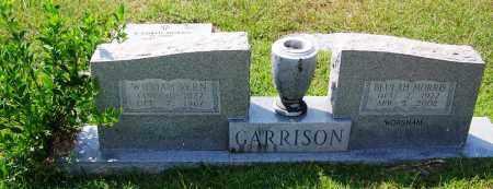 GARRISON WORSHAM, BEULAH MORRIS - Cleveland County, Arkansas | BEULAH MORRIS GARRISON WORSHAM - Arkansas Gravestone Photos