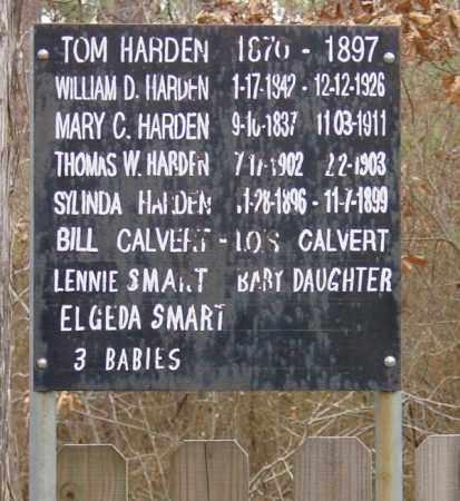 *BURIALS ON SIGN,  - Cleveland County, Arkansas |  *BURIALS ON SIGN - Arkansas Gravestone Photos