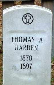 HARDEN, THOMAS A - Cleveland County, Arkansas | THOMAS A HARDEN - Arkansas Gravestone Photos