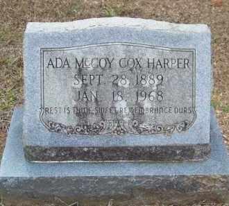 HARPER, ADA MCCOY - Cleveland County, Arkansas | ADA MCCOY HARPER - Arkansas Gravestone Photos