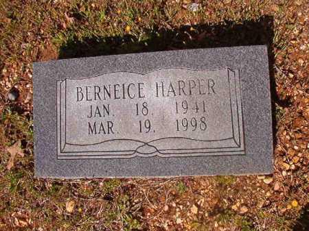 HARPER, BERNEICE - Cleveland County, Arkansas | BERNEICE HARPER - Arkansas Gravestone Photos